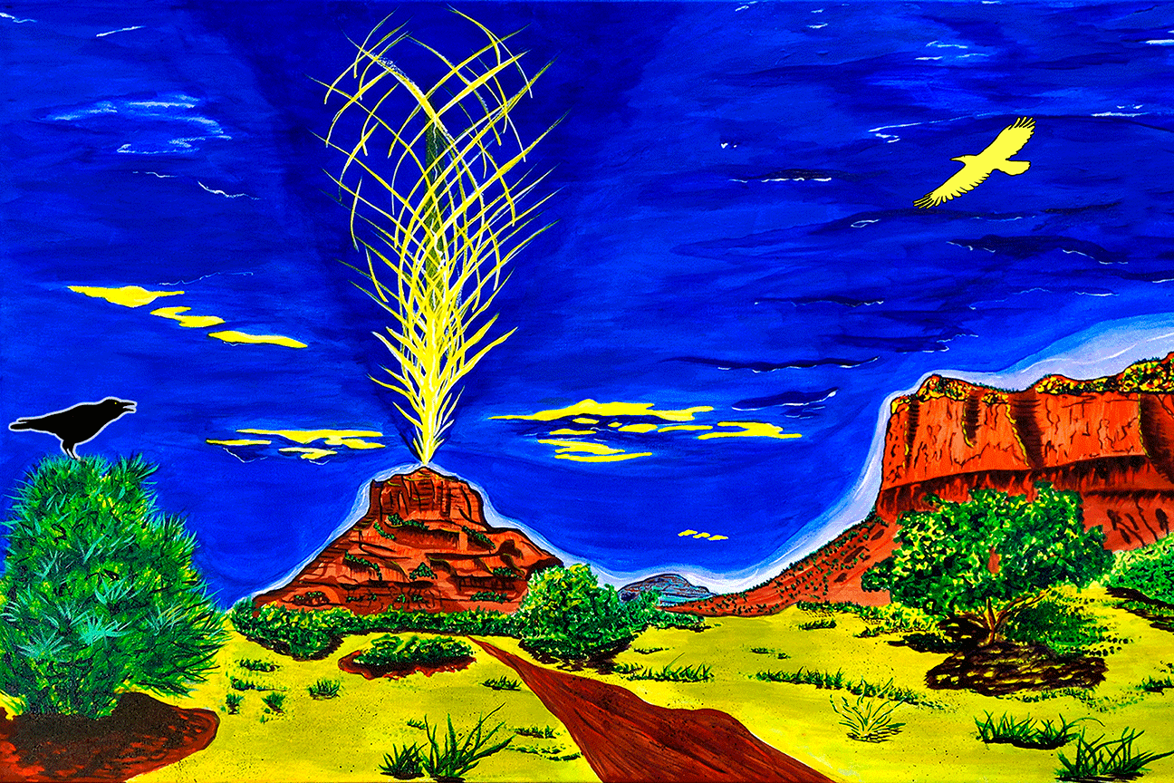 Bell Rock Raven Vortex