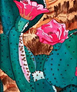 Desert Blossom Prickly Pear Cactus