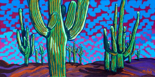 Iconic Saguaro