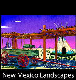 Enchanted Paintings of New Mexico