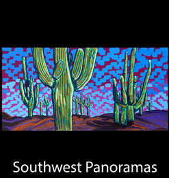 Larger Than Life Southwest Panorama Landscapes