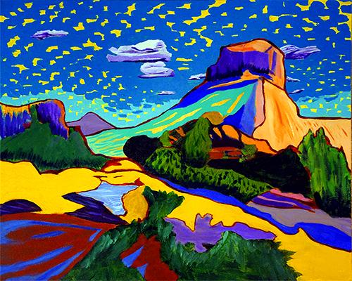 Vivid Mystical Landscapes