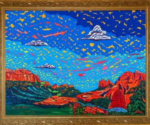 Vivid image of a Sedona landscape