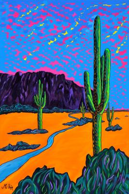 mystical desert journey
